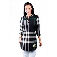 Women's Gameday Couture Oregon Ducks Plaid Tunic