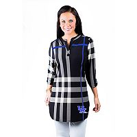 Women's Gameday Couture Kentucky Wildcats Plaid Tunic