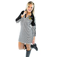 Women's Gameday Couture Iowa Hawkeyes Striped Pullover Dress