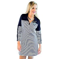 Women's Gameday Couture North Carolina Tar Heels Striped Pullover Dress