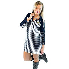 Women's Gameday Couture Michigan Wolverines Quarter-Zip Dress