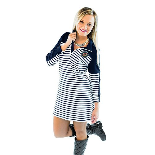 Women's Gameday Couture Cleveland Cavaliers Striped Pullover Dress