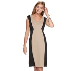 Women's Ronni Nicole Colorblock Sheath Dress