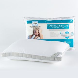 Sealy Posturepedic 300-Thread Count Maintains Shape Extra Firm Support Pillow