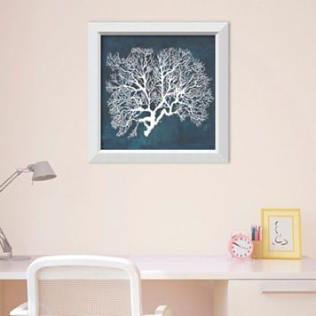 Amanti Art Inverse Sea Fan III Framed Wall Art
