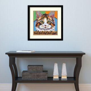 Amanti Art Kitten In Basket II Framed Wall Art