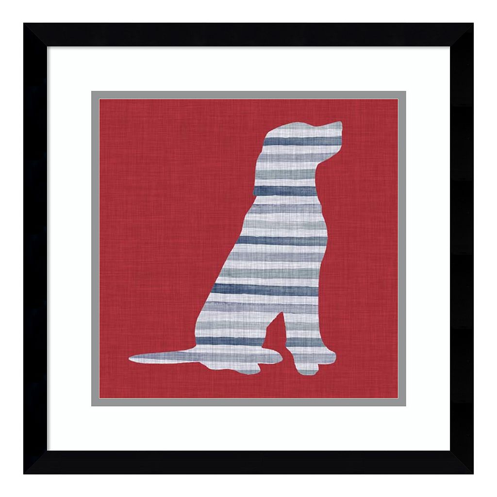 Amanti Art Lakeside Silhouette IV Framed Wall Art