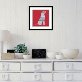 Amanti Art Lakeside Silhouette IV Framed Wall Art