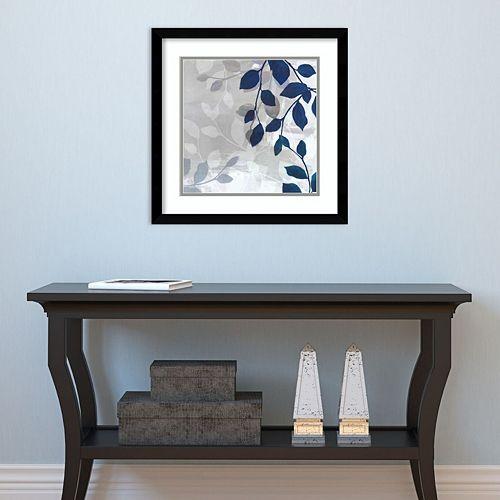 Amanti Art Leaves In The Mist I Framed Wall Art