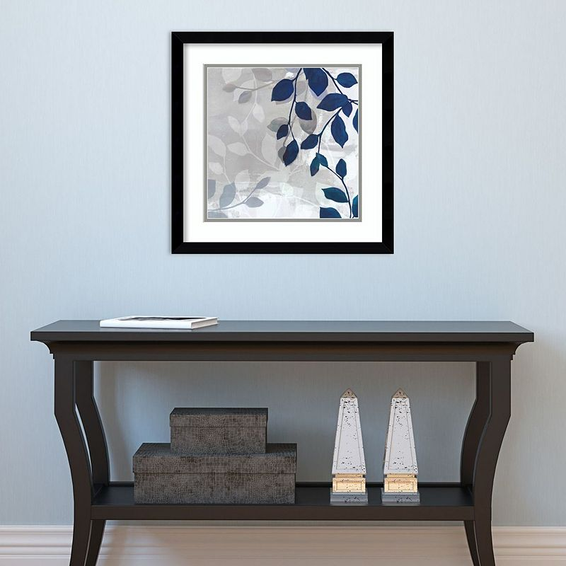 """Amanti Art Leaves In The Mist I Framed Wall Art. Multicolor. 17""""X17"""""""