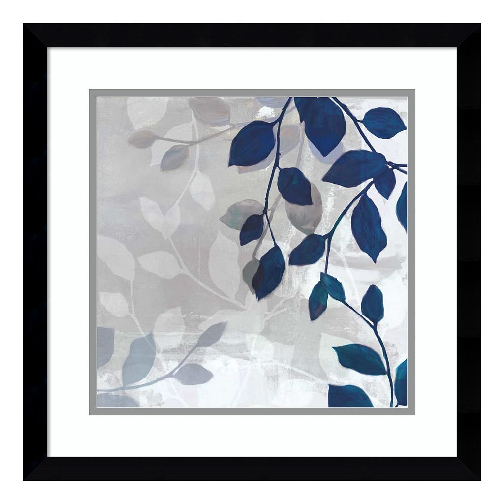 Amanti Art Leaves In The Mist I Framed Wall Art