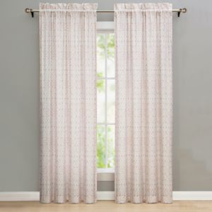 Nikki Chu 2-pack Shira Curtain