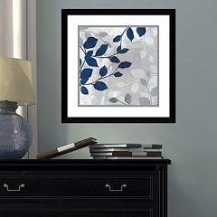 Amanti Art Leaves In The Mist II Framed Wall Art