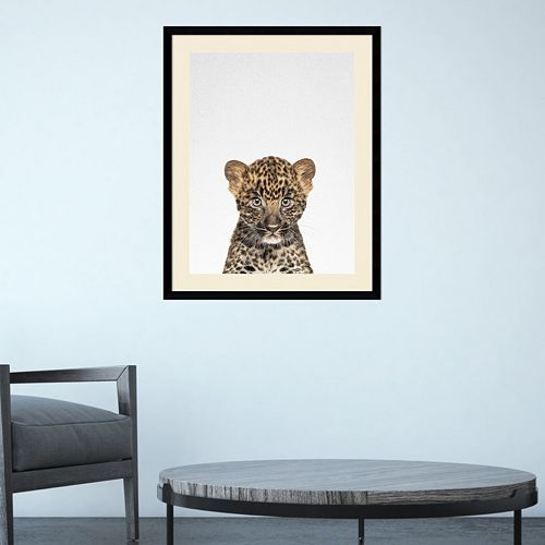 Amanti Art Leopard Framed Wall Art