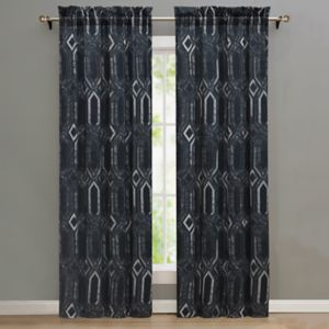 Nikki Chu 2-pack Midnight Curtain