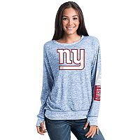 Women's 5th & Ocean New York Giants Space-Dyed Pullover Sweatshirt