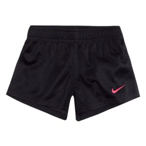Toddler Girl Nike Logo Mesh Shorts