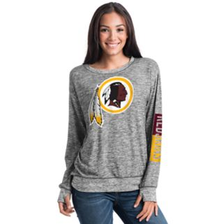 Women's 5th & Ocean Washington Redskins Space-Dyed Pullover Sweatshirt
