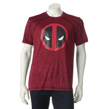Men's Marvel Hero Elite Deadpool Pieced Tee