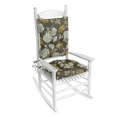 Klear Vu Indoor-Outdoor Porch Rocking Chair Cushion Set