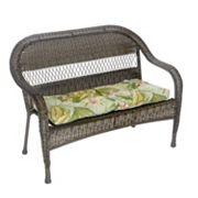 Klear Vu Indoor-Outdoor Patio Bench Cushion