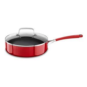 KitchenAid 3-qt. Aluminum Nonstick Saute Pan with Lid