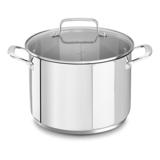 KitchenAid 8-qt. Stainless Steel Stockpot with Lid