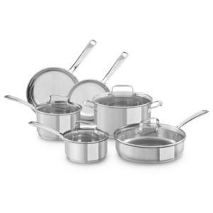 Mold kitchenaid 10 pc stainless steel cookware set Xxx