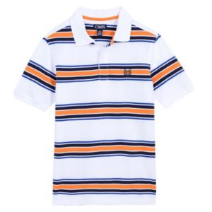 Boys 4-20 Chaps Striped Polo