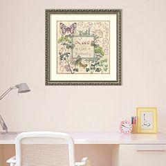 Amanti Art Love And Butterflies Framed Wall Art