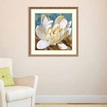 Amanti Art Magnolia 1 Framed Wall Art