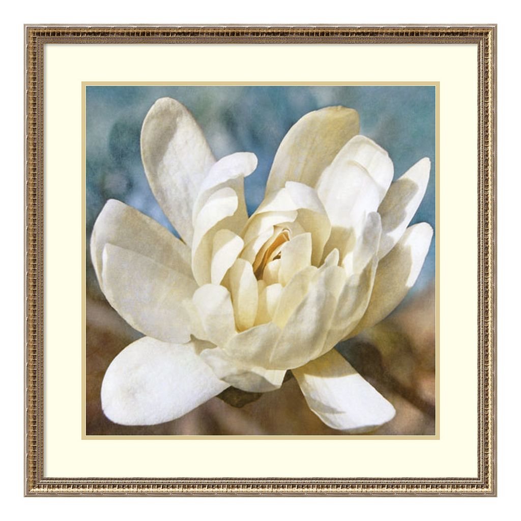 Amanti Art Magnolia 1 Framed Wall Art