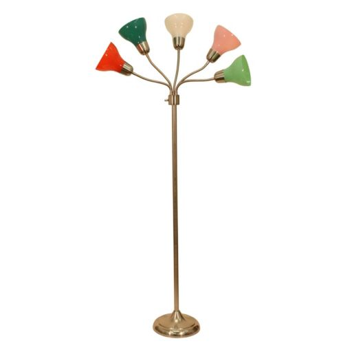 Decor Therapy 5-Light Multicolored Floor Lamp