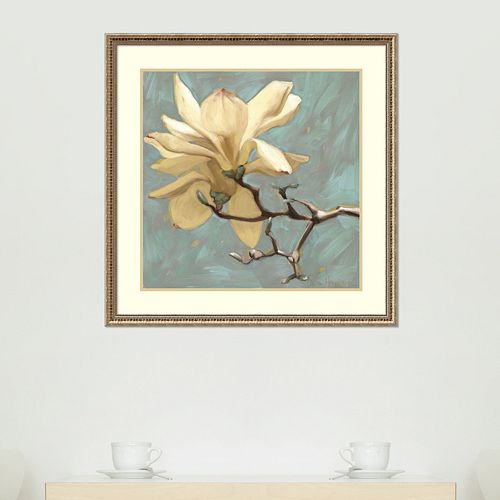 Amanti Art Magnolia 2 Framed Wall Art