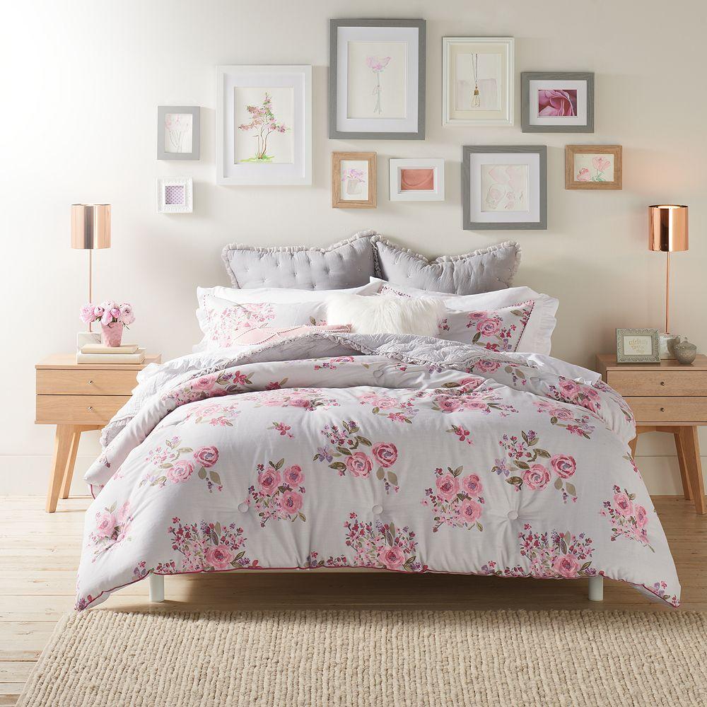 Lauren Conrad Rosaline Comforter Set