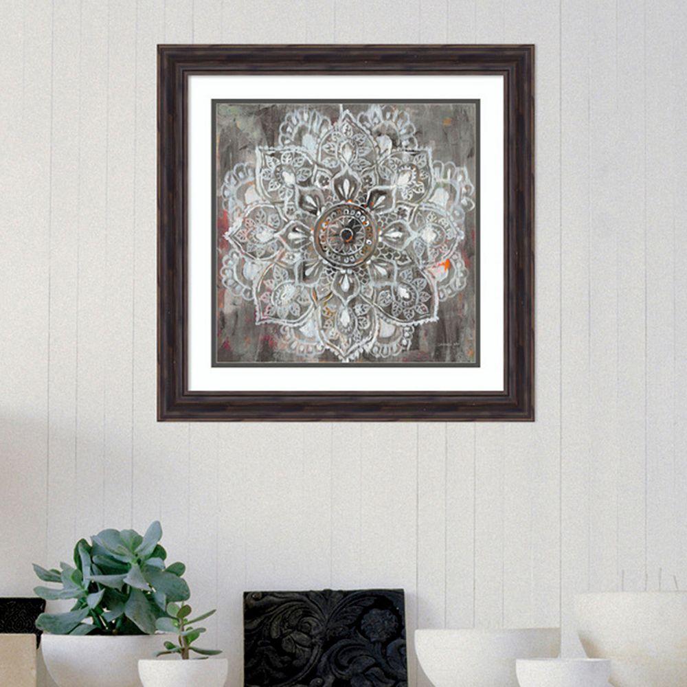 Amanti Art Mandala In Neutral II Framed Wall Art