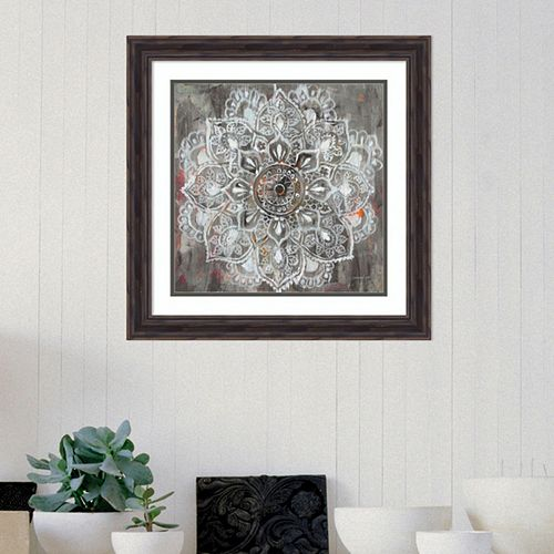Amanti Art Mandala In Neutral II Framed Wall Art