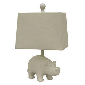 Decor Therapy Happy Hippo Table Lamp