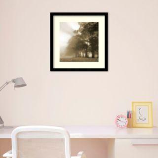 Amanti Art Misty Forest Framed Wall Art