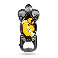 Iowa Hawkeyes Party Starter Bottle Opener Magnet