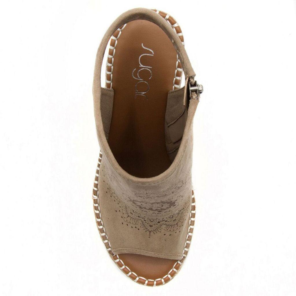 sugar Harmony Women's Wedge Sandals