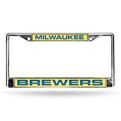 Milwaukee Brewers License Plate Frame