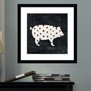 Amanti Art Modern Americana Farm I Framed Wall Art