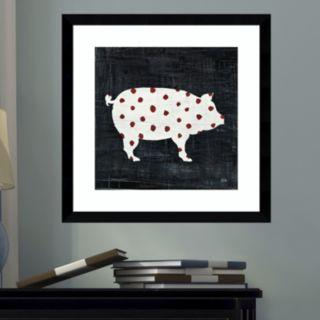 Amanti Art Modern Americana Farm I Framed Wall Art