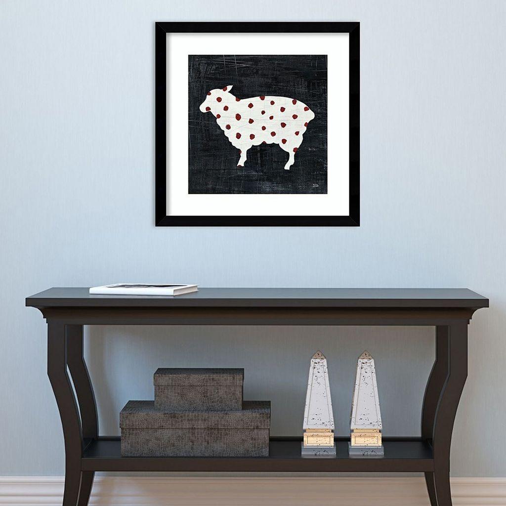 Amanti Art Modern Americana Farm II Framed Wall Art