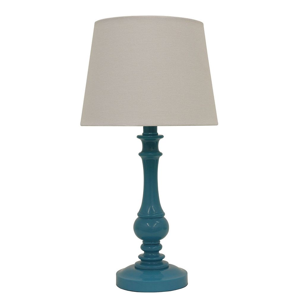 Decor Therapy Teal Table Lamp