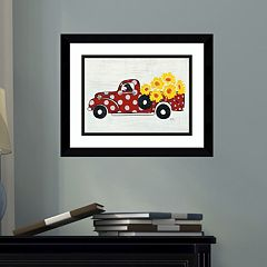 Amanti Art Modern Americana Farm VI Framed Wall Art