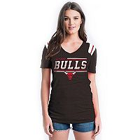 Women's Chicago Bulls Athletic Triblend Tee