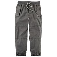 Toddler Boy Carter's Solid Poplin Pants