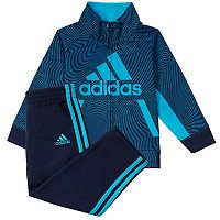 Toddler Boy adidas Logo Zip Jacket & Pants Set